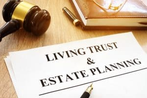 Living trust and estate planning form